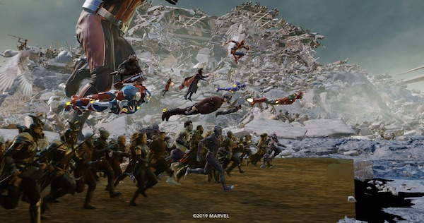 Avengers: Endagame, visual effects of Weta Digital