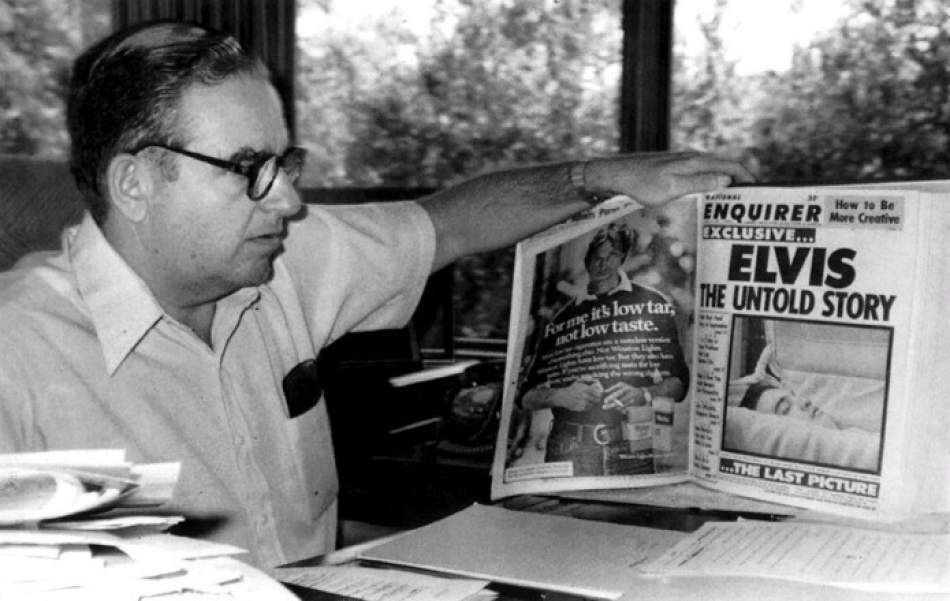 National Enquirer: 'Getting the real story', interview with Paul David Pope