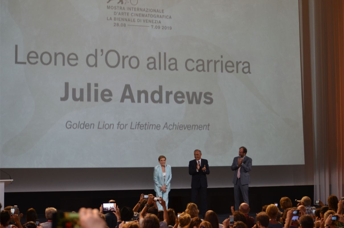 Venice Film Festival 2019 - Award to Julie Andrews