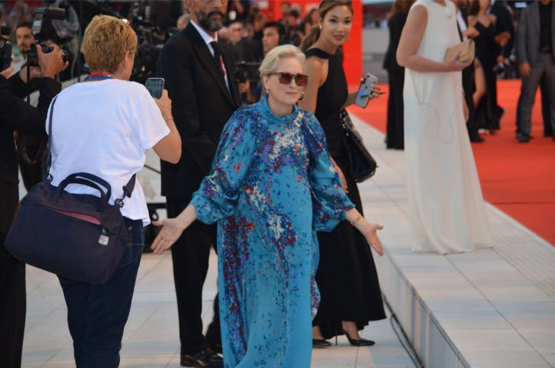 Venice Film Festival 2019 - red carpet The Laundromat by Steven Sodeberg with Meryl Streep