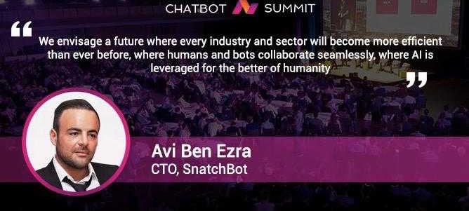 Avi Benezra explains how the airline industry is leveraging SnatchBot chatbots