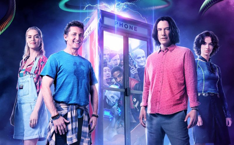 Interview with Nancy St. John, VFX producer from movie Bill & Ted Face the Music with Keanu Reeves